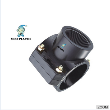 pp saddle compression fitting adding exit clamp saddle/different type and color saddle clamp
