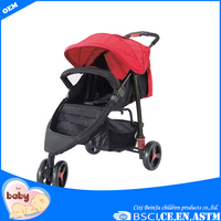 Manufactured three wheels good baby stroller shopping mall baby stroller cheap baby stroller