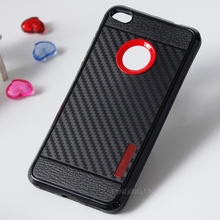 wholesale mobile phone accessories tpu pc hybrid carbon fiber case cover for oppo a77 case