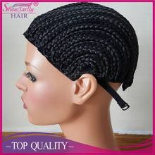 Cornrow braids wig cap easier making wig less stress with adjustable for hair braided wigs cap