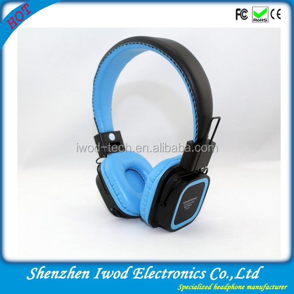 New china products for sale bluetooth mobile phone earphone fancy handsfree headphone built in mp3 player