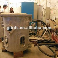 Small electric ingot melting furnace for copper , aluminum, iron , steel