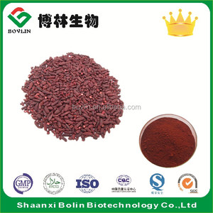 Factory Supply Red Yeast Rice Extract / Lovastatin / Monacolin K