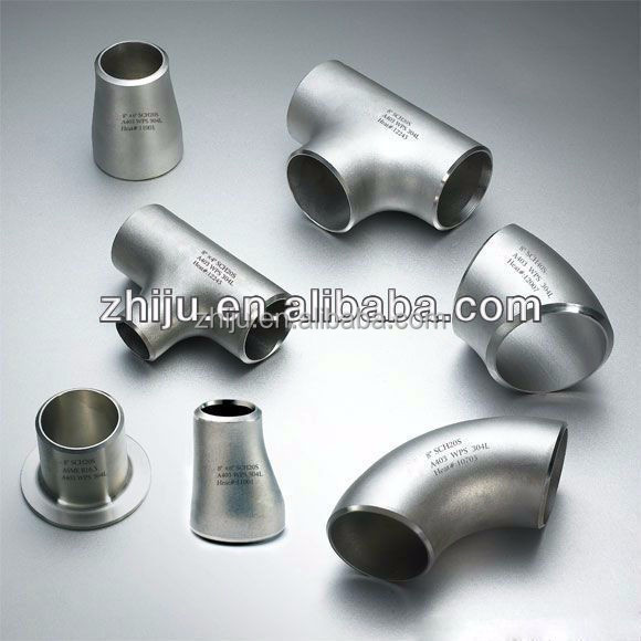 Pipe fitting reducer iso ce tee mild steel flange