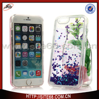 mobile phone shell fashion glitter case for iphone 6 made in China