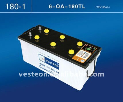Japan Standard 12V180Ah dry car battery