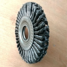 Double Layer Heavy Duty Standard Twist Knot Wheel <strong>Brush</strong>