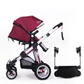 New Design Factory Price Light Weight Baby Carriage Board/Baby Buggy Board With 2 Wheels