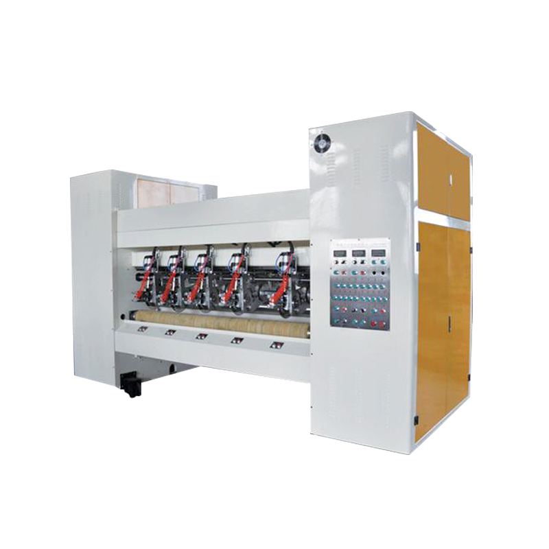 High precision box paper rolling cutting machine