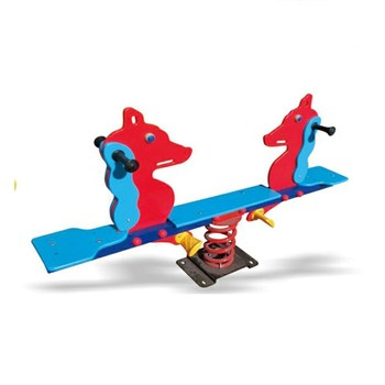 Kids amusement funny spring small seesaw for children playground HF-G215E
