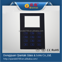 High quality electronics front glass panel, touch panel glass