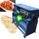 Bamboo Product Manufacturing Equipment Cutting Splitting Polishing Bbq Skewers Stick Processing Machine Price
