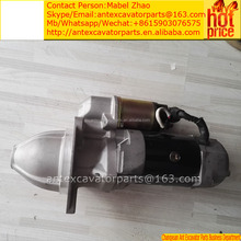 s6d125 engine parts pc300-3 starting motor 600-813-4231,600-813-4230,600-813-3970,600-813-3912,600-813-3911