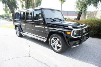 2011 Mercedes Benz G55 Conversion Stretch