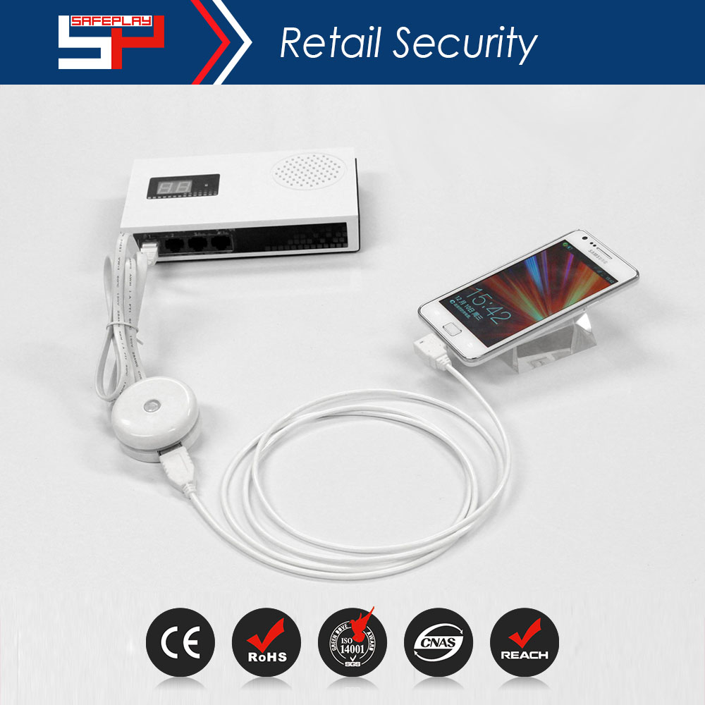 ONTIME SP3004 Factory Price Retail Shop Anti-theft Mobile Phone Security Display Stand