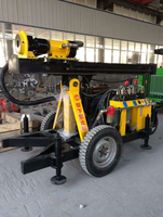 Wonderful mini water well drilling rig portable water well drilling machine mobile drilling rig for sale