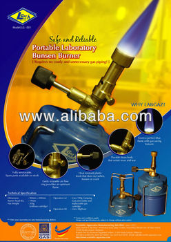 Portable Laboratory Bunsen Burner