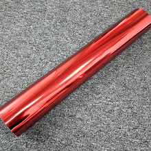 Metallic color heat transfer vinyl metal film for clothing
