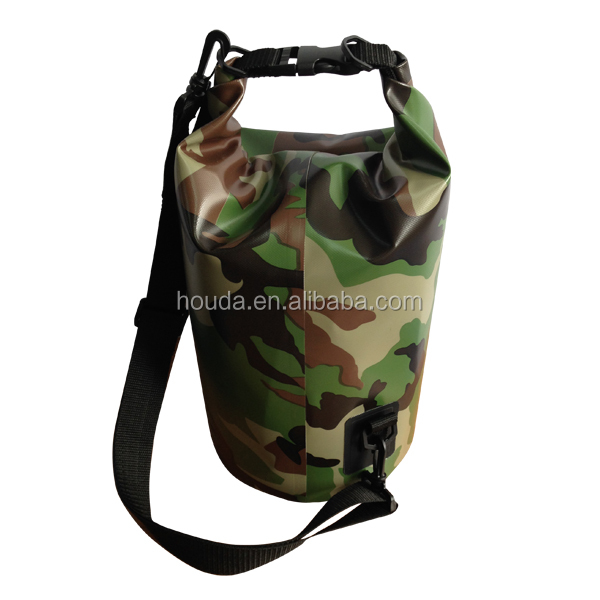 full camouflage printing waterproof dry bag for military