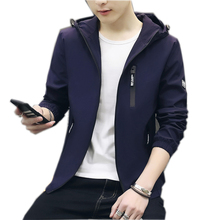 Cheap long sleeve jacket with hooded for man