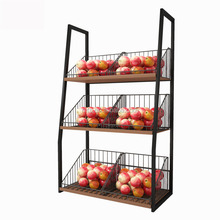 Tiers, Home Fruit Mobile Store Fixture, Display Stand