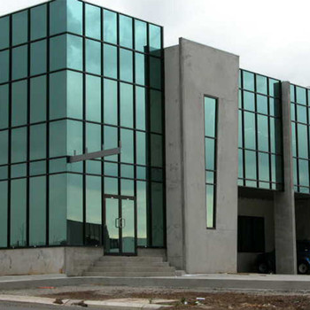 Factory Price colored insulated glass curtain wall