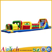 Top level obstacle inflatable,obstacle course for sale