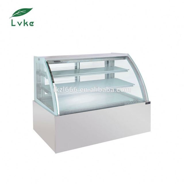Low price cake kiosk design cosmetic display cabinet