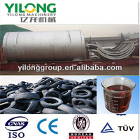 2014 China professional manufacturer waste rubber waste tyre pyrolysis plant