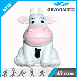 Bulk competitive price PVC cute cow design toy