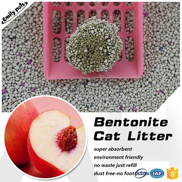 Innovative pet grooming products cat sand