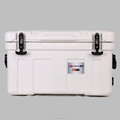 Beer bottle cooler box with handle