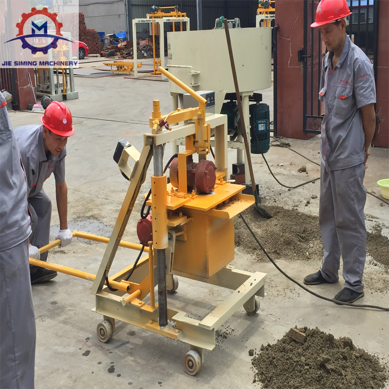 Automatical concrete hollow block/Brick making machine price/Tiger stone Cement Interlocking paver brick block making machine