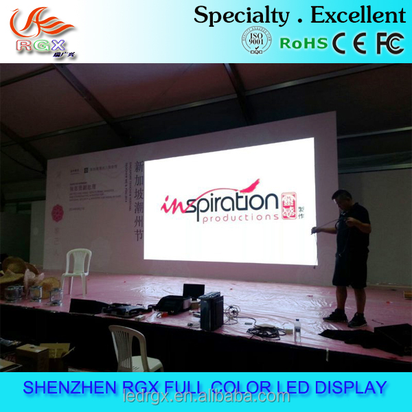 RGX hot sale High definition live show renta P3 l indoor led display 64x32