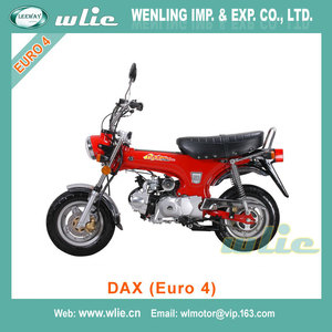 2018 New ece vanvan replica t-rex 5.5-10'/5.5-10' motorbike monkey motorcycle with customs parts Dax 50cc 125cc (Euro 4)