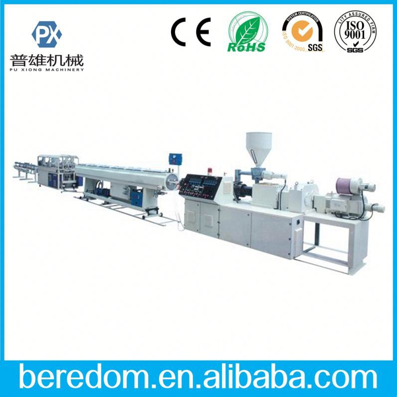 Pvc Steel Pipe Fiber Reinforced Extrution Production Line