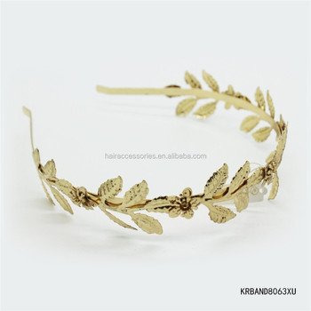 Grecian Leaf Hair Bands For Girls