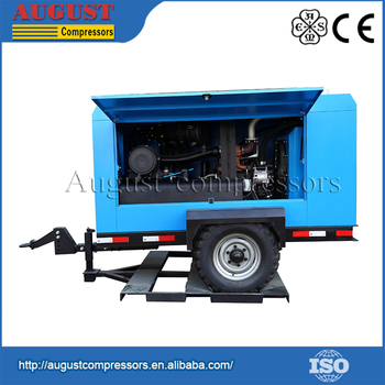 Longer Lifetime Portable Diesel Air Compressor