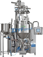 mayonnaise production line recycle vacuum emulsifying homogenizer mixer