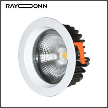 High-grade ultra thin recessed 15W led downlight with remote control
