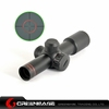 Optic Hunting 4.5X20 Red Illuminated Mil-Dot Rifle Scope With Flip-up Covers Riflescopes Hunting NGA0383