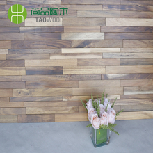 2018 new design Acacia 3D Interior wooden wall panel