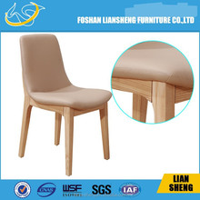 Wholesale camelback side chair / upholstery woodenchair/ antique button chair DC011