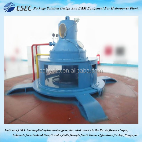 Cross Flow Turbine / Axial Flow Water Turbine For Hydro Power Station