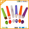 2015 New Design Colorful Cool Silicone Ice Popsicle Molds
