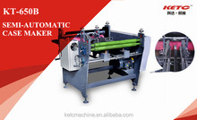 KT-650B Semi-Automatic Hardcover Folding and Gluing Machine