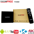 Tocomfree Android tv box Amlogic S905 Quad Core android 5.1.1 4K kodi smart tv box