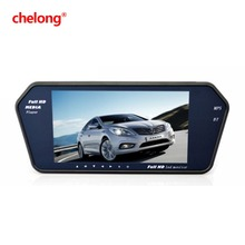 Chelong Manufacture high quality low price rearview mirror car monitor with 7 tft lcd