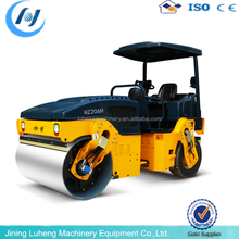 hydraulic drive double drum road roller 12ton operation weight - LUHENG