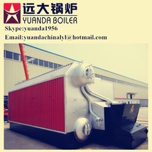 High efficiency steam output water tube bagasse boiler
